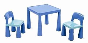 ... per bambini, con 2 sedie, Blu (blau): Amazon.it: Casa e cucina