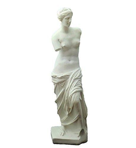 (akindou) 自宅が美術館 人物像 石膏像風 美術 芸術 アート デッサンに (28cm ミロのヴィーナス)