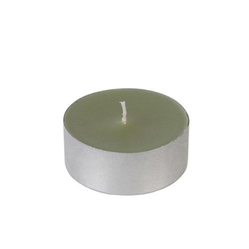 Mega Oversized Sage Green Tealights (144Pcs/Case) Bulk