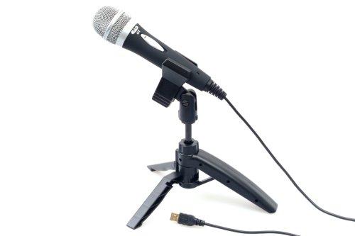 CAD U1 USB Micrófono dinámico en grabación