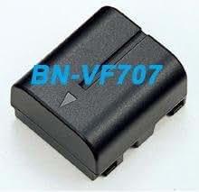 Moondocom - Batterie BNVF707/BN-VF707U/BN-VF14 (BNVF707U / BNVF14) Camescope JVC GR-X5EK, GR-DF540, GR-DF550, GR-DF565GR, DF570EK, GR-DF590, GZ-MG20EK, GZ-MG21EK, GZ-MG26EK, GZ-MG30EK, GX-MG36EK, GZ-MG40EK, GZ-MG47WEK, GZ-MG505EK, GZ-MG50EK, GZ-MG57EK, GZ-MG70EK GZ-MG77EK- 700 Mah Garantie 1 ans