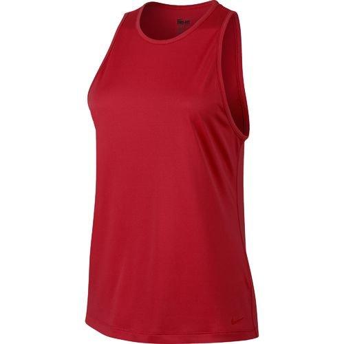 Nike Women's Tomboy Graphic Tank Top (Red, Medium)