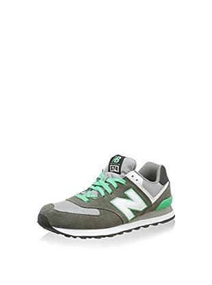 New Balance Zapatillas Nbml574Cpfd12Ba (Gris Oscuro / Verde)