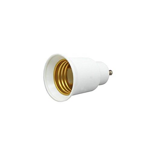 Shangge Ce&Rohs Certification 5 Pcs Gu10 To E27 Led Bulb Base Converter Halogen Cfl Light Lamp Adapter Socket Change Pbt