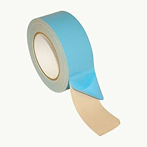 "Polyken NAT225 Multi-Purpose Double Coated Carpet Tape, 75' Length x 2"" Width, Natural"