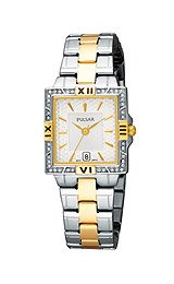 Pulsar by Seiko Two-Tone Stainless Steel Women's watch #PXT696