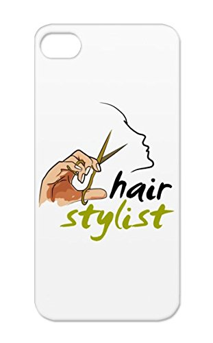 Hair Stylist Yellow Cover Case For Iphone 5 Salon Hairstylist Stylist Beauty Top Stylists Hairstylists Careers Professions Rock Best Miscellaneous Hairdresser I Love Barber Scissors Tpu Anti-Scuff front-820504