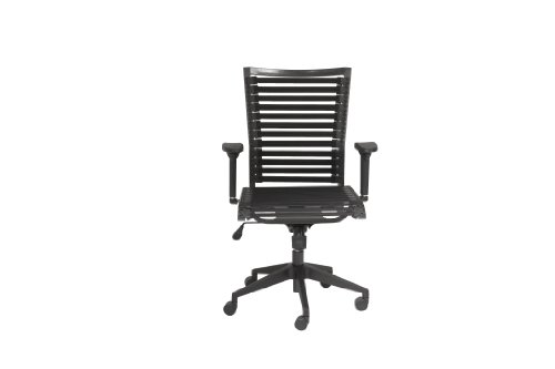 Bungie Black Flat High Back Office Chair