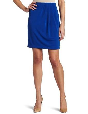 (反季) $14.75 AK Anne Klein Women's Asymmetrical 女款灰色一字裙