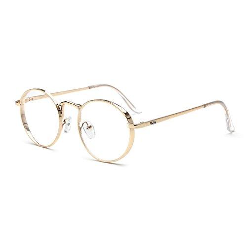 dking-oversized-metal-frame-clear-lens-round-prescription-eyeglasses-frames-gold