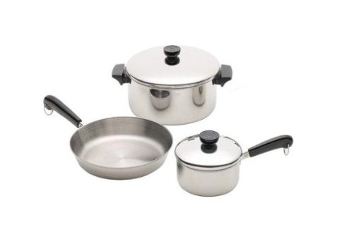 Best Buy Revere Stainless Steel 5 Pc Aluminum Disc