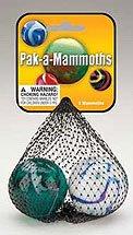 Pak-a-Mammoths Marbles