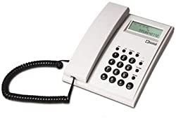 Beetel M51 CLI Corded Phone (Warm Gray)