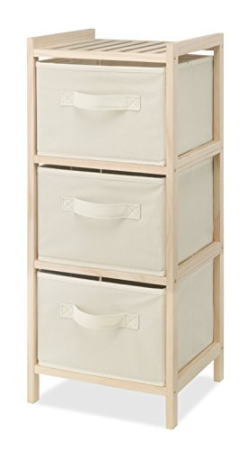 Whitmor 3 Drawer Wood Chest (Clothing Storage Drawers compare prices)