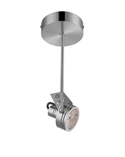 Lite Source Elaxi LED Semi-Flush Mount, Aluminum