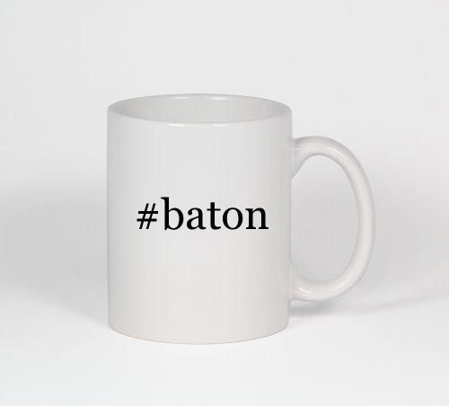 #Baton - Funny Hashtag Ceramic 11Oz Coffee Mug Cup