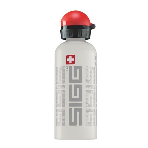 Sigg Siggnature Water Bottle (White, 0.6-Litre) front-825913