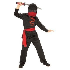 Brotherhood Dragon Ninja Halloween Kid's Costume-small