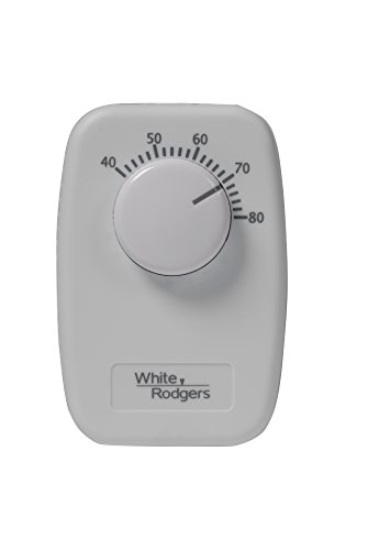 White-Rodgers B30 Mechanical Single Pole Line Voltage Thermostat