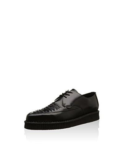 Underground Zapatos derby Barfly Negro