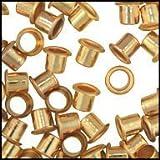 "WIDGETCO 1/4"" Brass Shelf Pin Sleeves(1 EACH)"