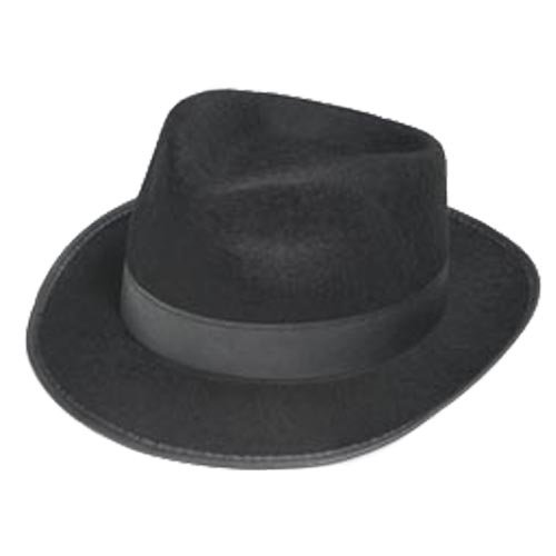 BLACK BLUES BROTHERS HAT - 1
