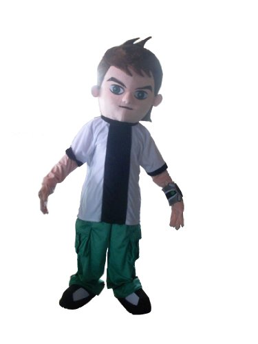 Ben 10 Ben Ten Mascot Costume Adult Size Cartoon Costumes Halloween Chirstmas Party