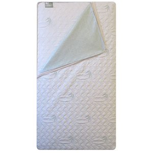 L.A Baby 2-In-1 Natural Orthopedic Crib Mattress Set