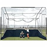 ATEC Varsity Portable Backstop (16'W x 15.5'D x 12'H) by Atec