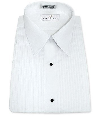 Tuxedo shirt by neil allyn 100 cotton with laydown 100 cotton tuxedo shirt