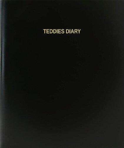 BookFactory® Teddies Diary - 120 Page, 8.5