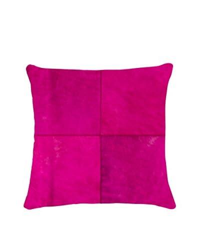 Torino Quatro Large Pillow, Fuchsia