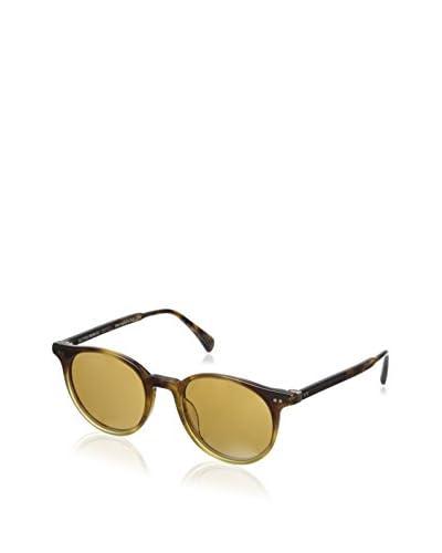 Oliver Peoples OV5314SU Unisex Delray Sunglasses, Vintage Brown Tortoise Gradient