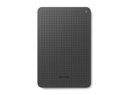 "Buffalo HD-PCF1.0U3BB-EU MiniStation HDD Esterno, 1 TB, 2,5"", Nero"