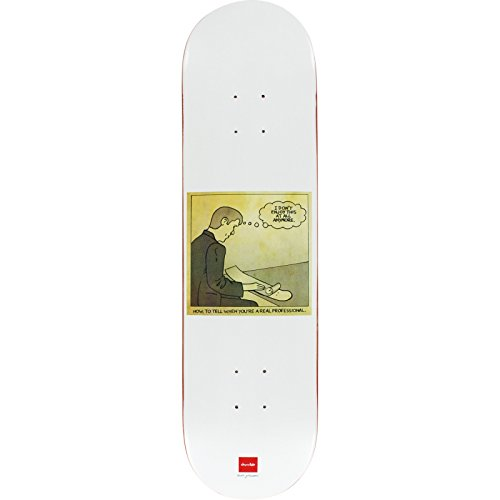 Chocolate Skateboards Marc Johnson A Real Pro Skateboard Deck - 8.12