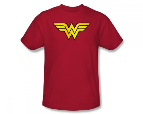 Wonder Woman Logo Adult T-Shirt