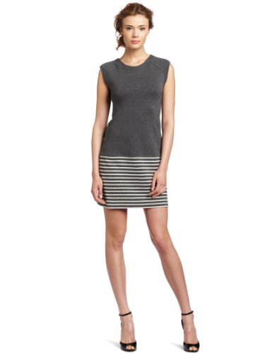 Yoana Baraschi Women's Apres Tennis Mini Dress, Graphite, Large