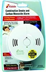 Kidde White Combination Smoke Alarm & Carbon Monoxide Detector 9000122 from Kidde