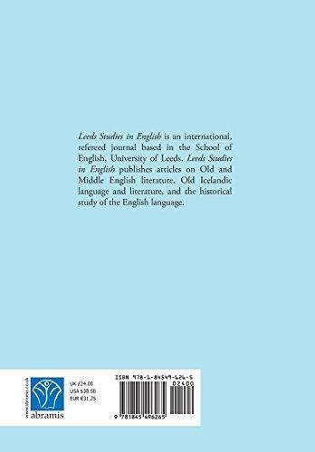 Leeds Studies in English 2012