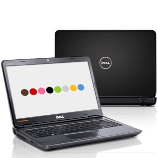 Dell Inspiron 14R~ Core I3-350M 2.26Ghz~4Gb Ddr3 Ram~320Gb Hd~Integrated 1.3M Webcam~Mars Black