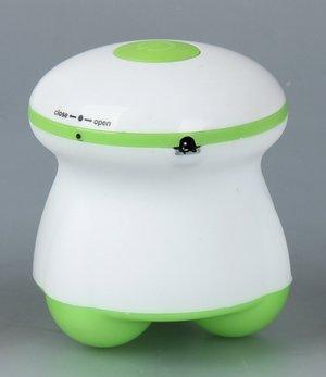 Healthy Care USB Triangle Mini Wave Vibrating Electric Massor Device Small Three-Legged Massager (Green)