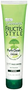 Garnier Fructis Style Pure Clean Smoothing Cream, 5.1 oz. (Pack of 6)
