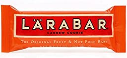 Larabar Cashew Cookie, Box of 16/1.7 oz Bars