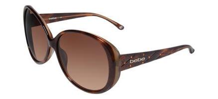 Bebe BB7026 BABY Sunglasses Tortoise 61 mm