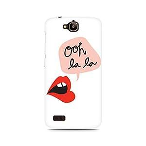 Ebby Ooh La La Premium Printed Case For Huawei Honor Holly