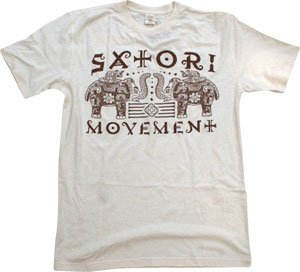 Satori T-Shirt: Pachyderm [X-Large] Natural Hemp