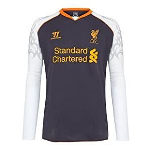 Warrior Kids Liverpool Football Club 3rd Long Sleeve - Nightshade Purple, Large by Warrior