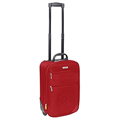 Dunlop Red Suitcase Trolley Travel Luggage Equipment Accessories from Dunlop