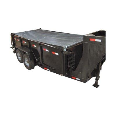 Truckstar Mesh Dump Tarp Roller Kit - For 14-16Ft. Dump Trailers, 6 1/2Ft. X 18Ft., Model# Dtr6518