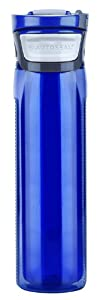 AVEX Macro Water Bottle, Blue, 18-Ounce